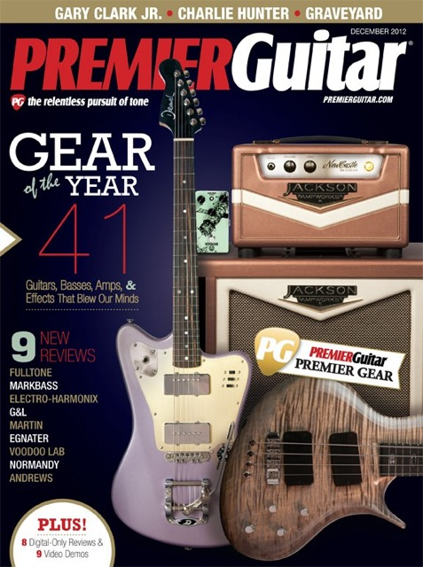 Deimel Firestar is PremierGuitar Gear of the Year