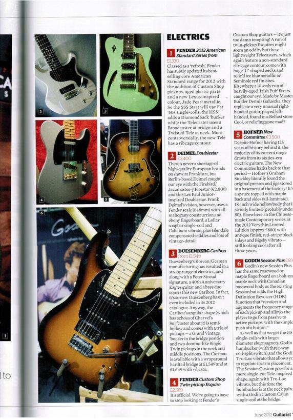 Guitarist Magazine Deimel