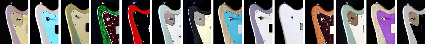 Deimel Firestar Pickguards
