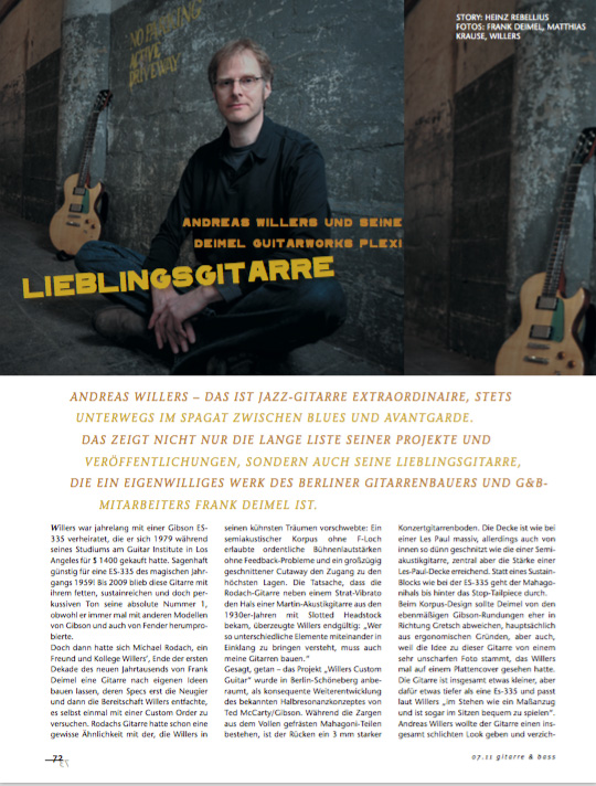 Gitarre&Bass Andreas Willers
