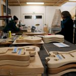 Deimel Guitarworks - frequent meeting in order to update the production status