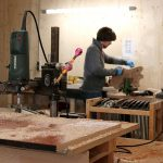 Deimel Guitarworks - perfect sanding makes a big part of our job