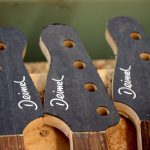 Deimel Guitarworks - Deimel Firestar Bass necks with black fiber w/ pearl inlay headstock i