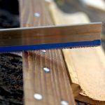 Deimel Guitarworks - Frank is sawing frets