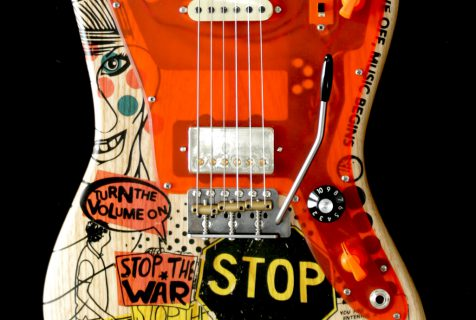 Deimel Firestar Artist Edition »STOP THE WAR«, art by Kora Jünger