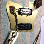 Deimel Guitarworks - setting up the electric parts of the guitar