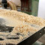Wood dust