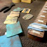 Fretboard job on Deimel Firestar