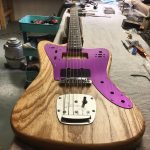 Deimel Firestar – swamp ash body