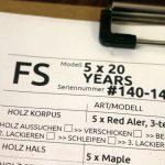 Worksheet for Deimel Firestar 20 Years Edition