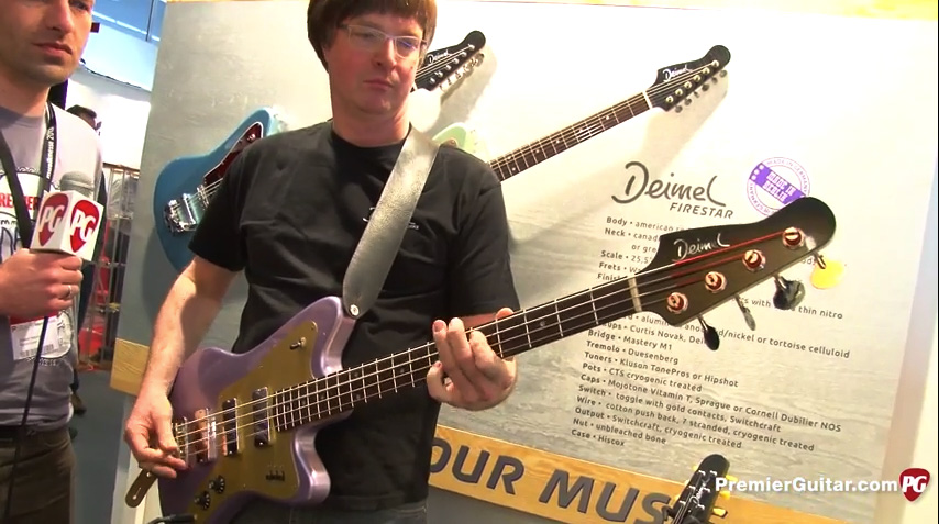 Deimel Firestar Bass video