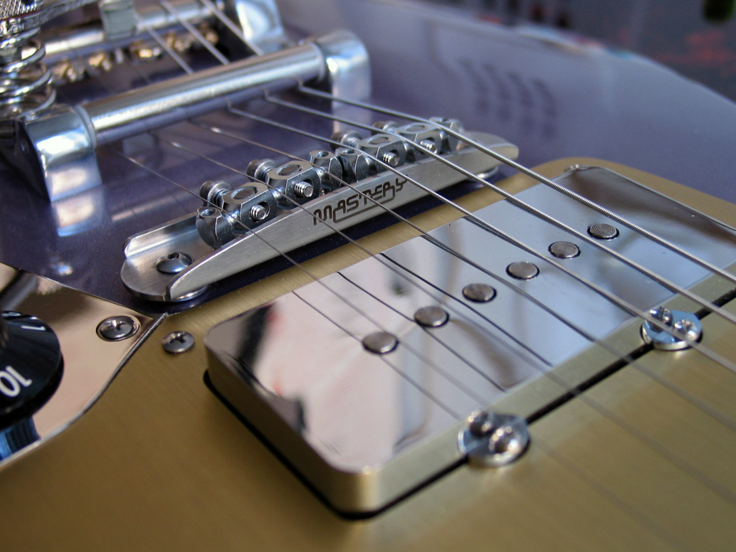 Deimel Firestar, Mastery bridge, Jazzmaster pickup