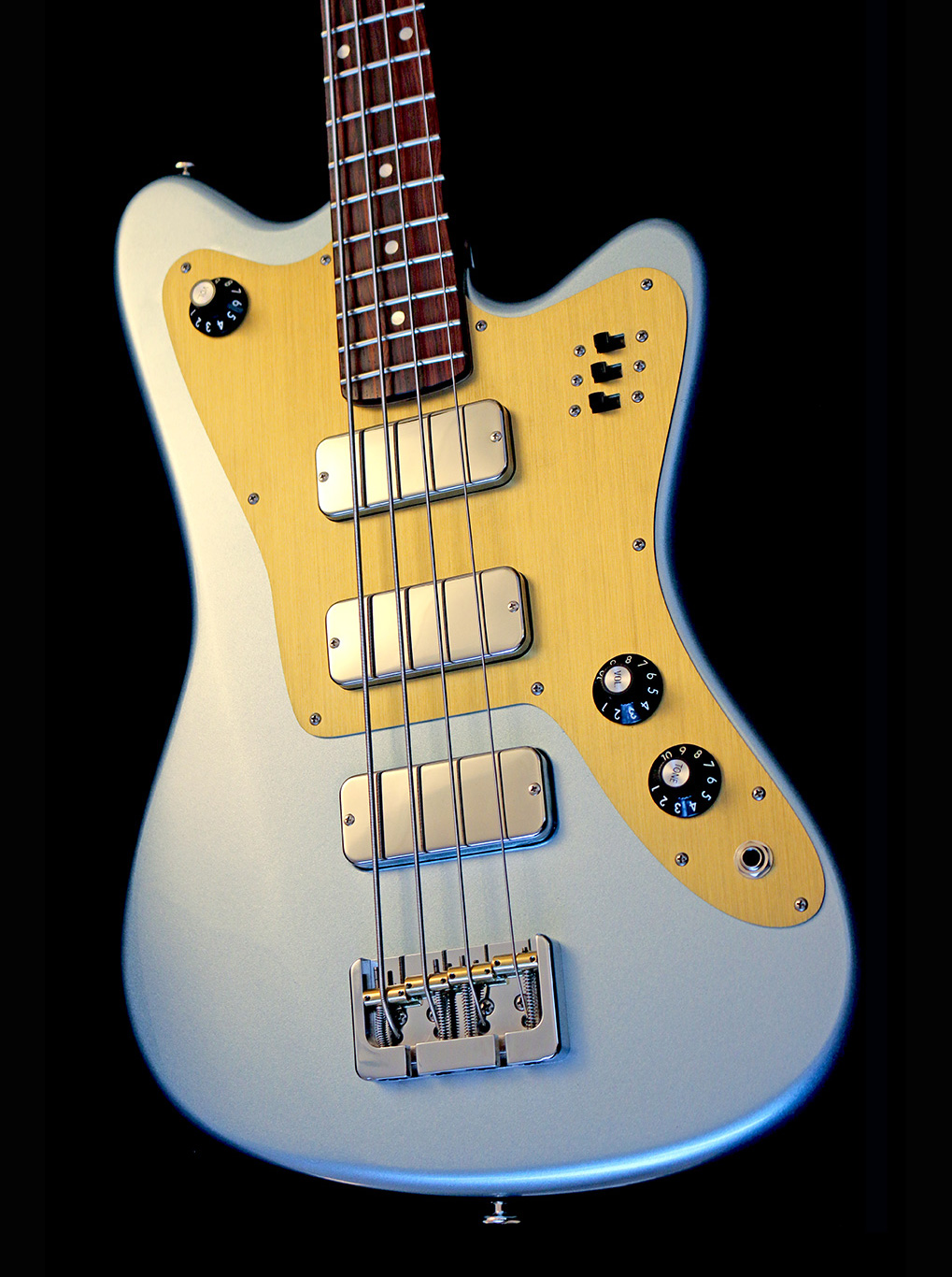 Deimel Firestar Bass »Moon Dust Blue«