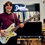 Jan Müller - Tocotronic, Deimel Firestar Bass »Moon Dust Blue«
