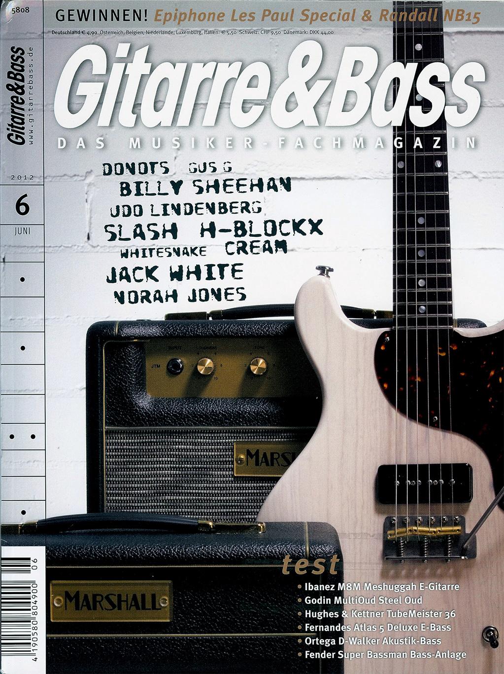 Gitarre&Bass Deimel Doublestar