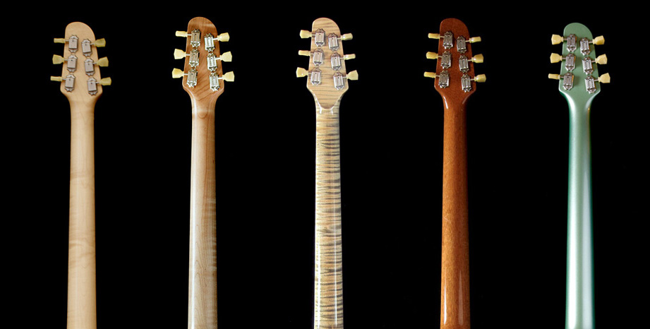 Deimel Singlestar neck finishes