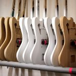 Deimel Guitarworks - bodies ready to get varnished