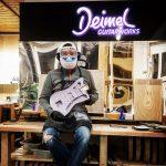 Deimel Guitarworks - Frank in extraterrestrial mission