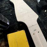 Deimel Guitarworks - pre-shape of a Deimel Firestar neck