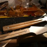 Deimel Guitarworks - inserting trussrods to Deimel Firestar necks
