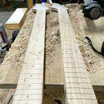 Deimel Guitarworks - building one piece Deimel Firestar necks