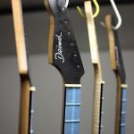 Deimel Guitarworks - varnishing necks on base of customer requests