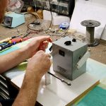 Deimel Guitarworks - Frank is making custom pickups