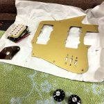 Deimel Guitarworks - bringing parts together for final mount of the guitar