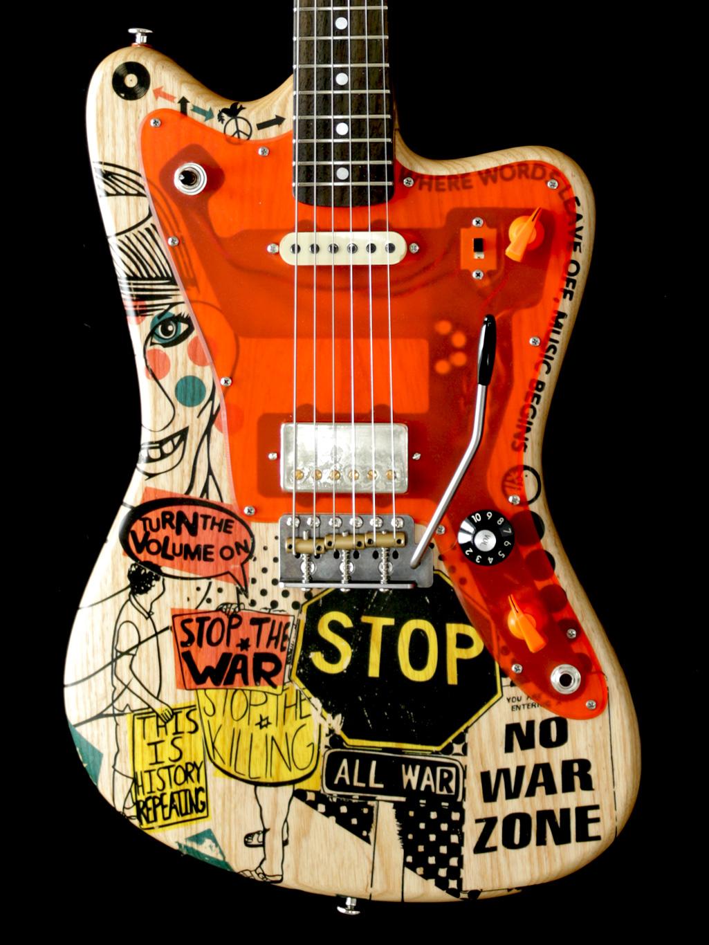 Deimel Firestar Artist Edition »STOP THE WAR«, art by Kora Jünger