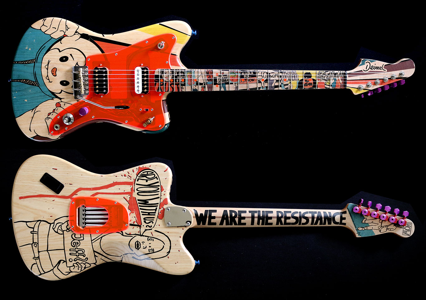 Deimel Firestar Artist Edition »Resistance«