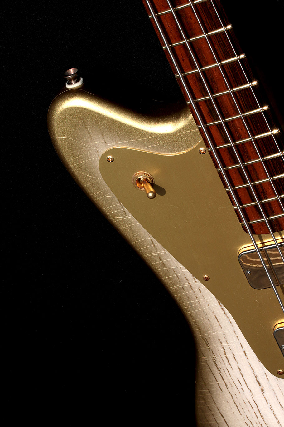 Deimel Firestar Bass »White Desert Sunburst«