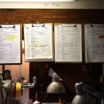 customer's work sheets