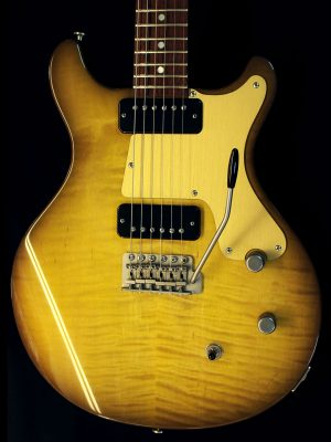 Deimel Doublestar RawTone »Lemon amber with faded burst on maple«