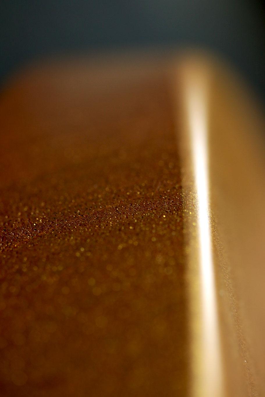 Deimel Doublestar RawTone »semi-transparent matt gold«