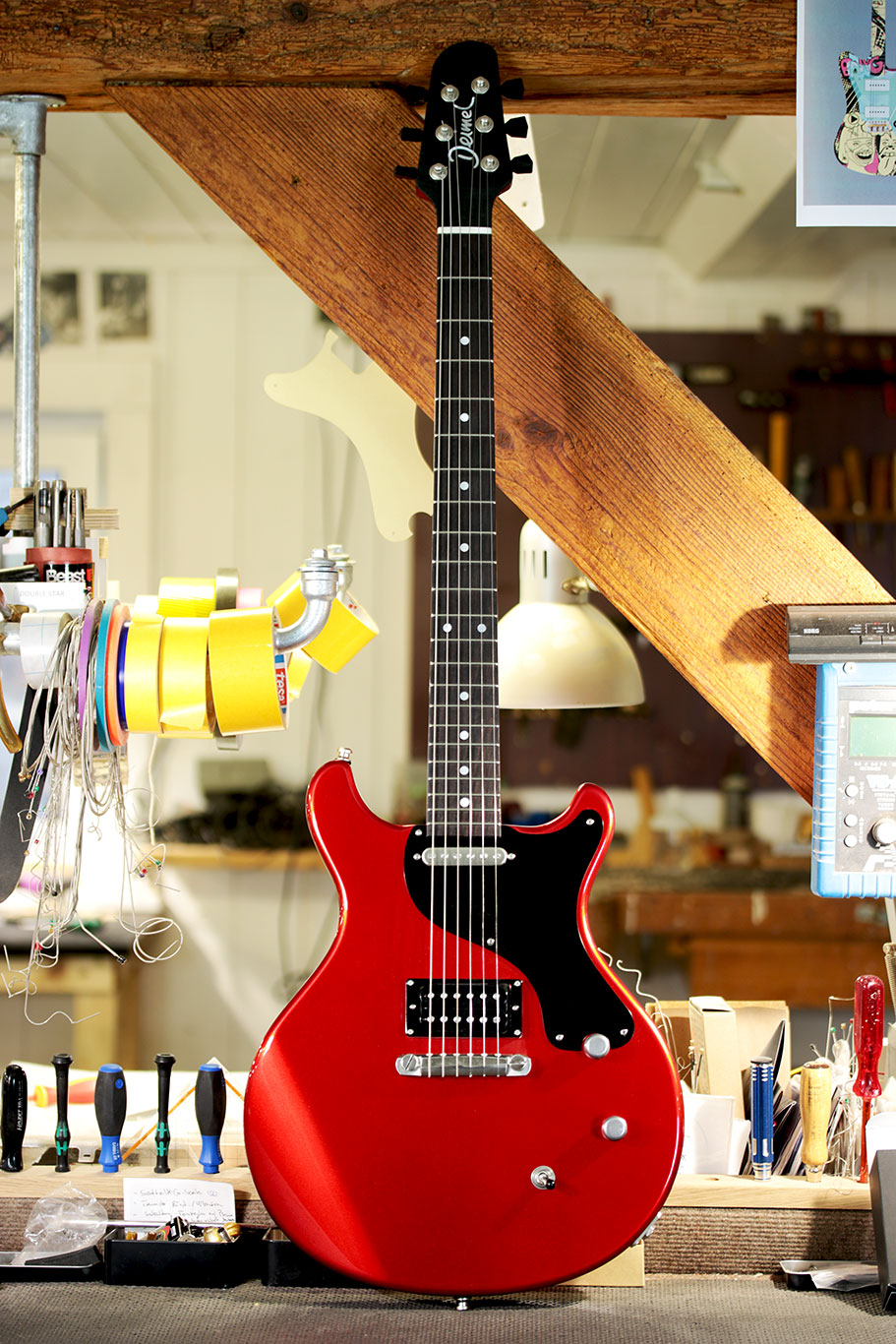 Deimel Doublestar RawTone »Candy Apple Red«