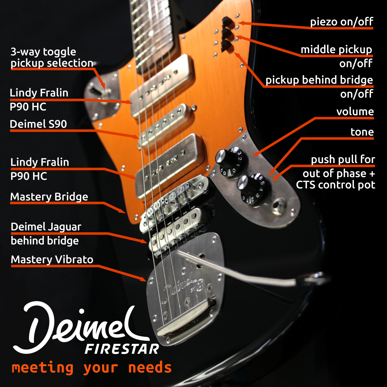 Deimel Firestar - Experimental Guitar