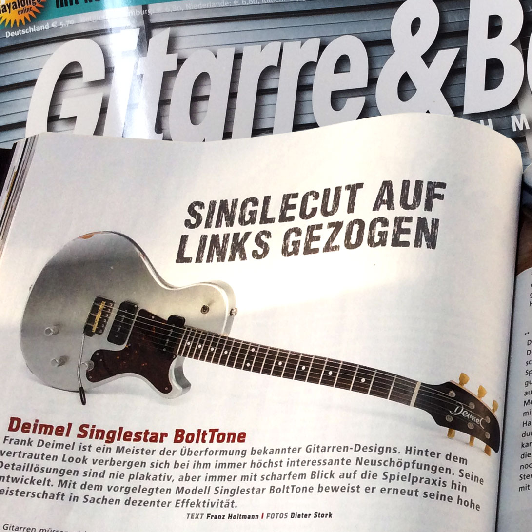 Deimel Singlestar Test Gitarre&Bass