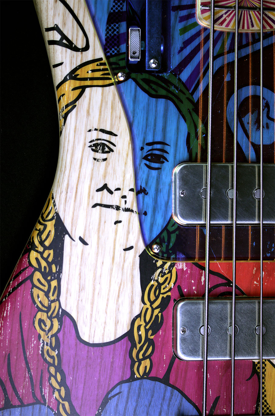 Deimel Firestar Artist Edtion Bass »GAME CHANGER«
