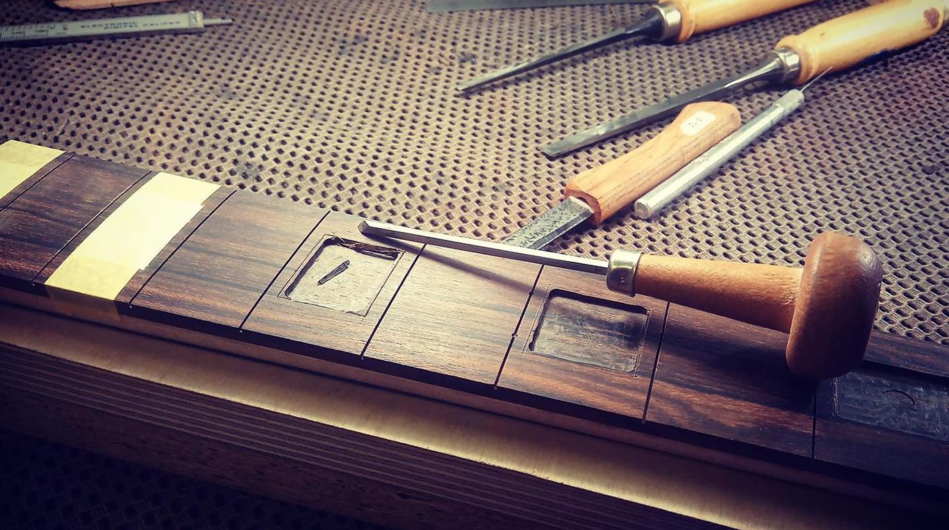 Deimel Guitarworks fretboard inlays